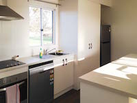 Kitchen areas include a dishwasher and modern cooking facilities